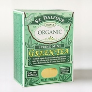Spring Mint Green Tea from St. Dalfour