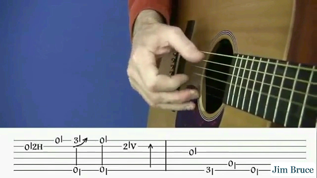 Guitar Tabs - Jim Bruce Right Hand