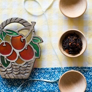 Organic Pomegranate Cherry Black Tea from Divinitea