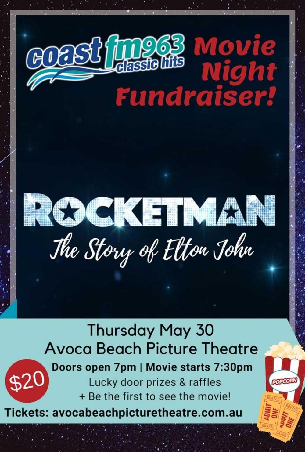 Central Coast Movie Premiere - Rocketman - Avoca, NSW