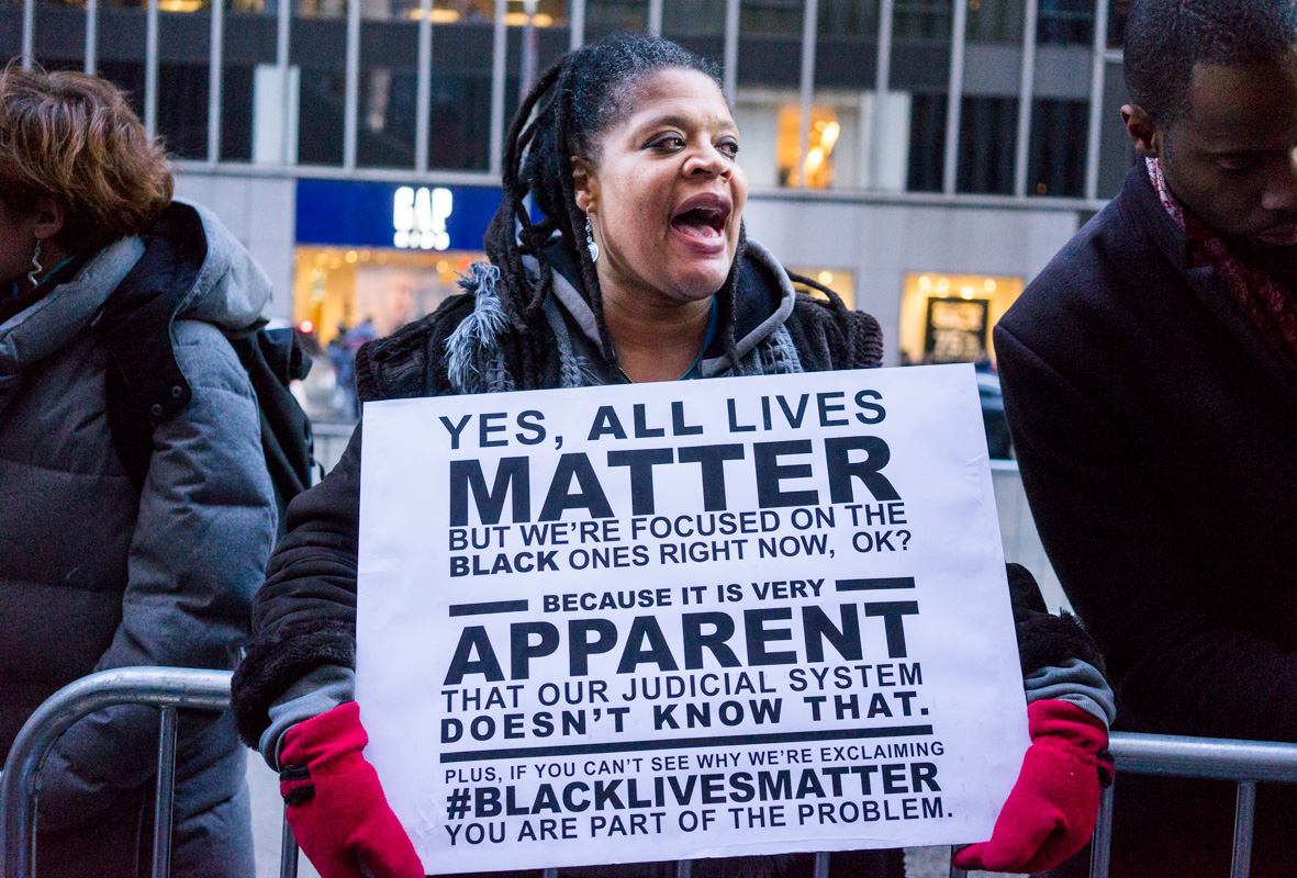 all lives matter a misconception and insult to the black lives matter