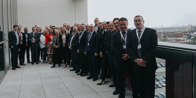 Midland manufacturers at the conclusion of the Manifesto for Britain event