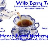 Wild Berry Tea from Home Farm Herbery