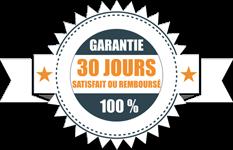 30 jours de garantie