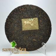 1980's Tong Qing Hao Tea Cake from SampleTea
