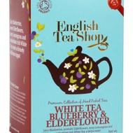 White Tea Blueberry & Elderflower from English Tea Shop