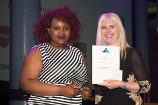 melissa-chimutanda-and-derby-college-chief-exec-mandie-stravinojpg