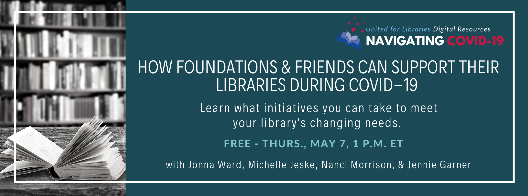 How Foundations and Friends Can Support Their Libraries During COVID-19