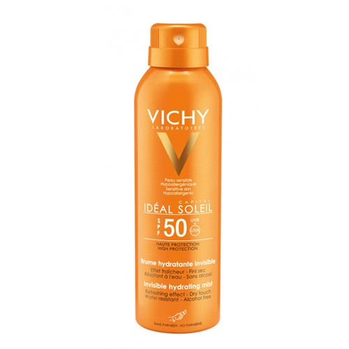 Brume hydratante invisible SPF 50 Ideal Soleil