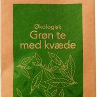 Økologisk grøn te med kvæde from Fredsted