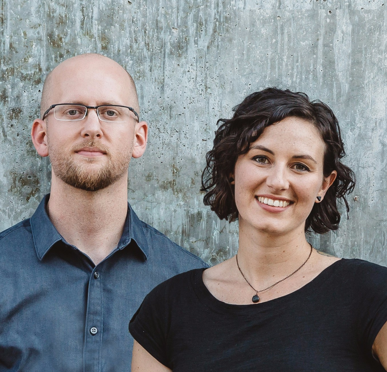 Erik Flowers and Megan Miller