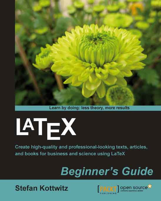 LaTeX Beginner's Guide cover
