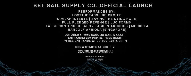 Set Sail Supply Co. Official Launch
