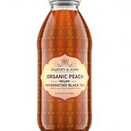Organic Peach Iced Tea - Bottled from Harney & Sons