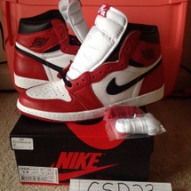 Air Jordan Retro OG 1 Chicago DS SZ 13