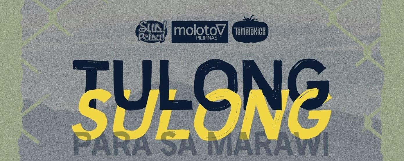 Tulong Sulong: Para Sa Marawi