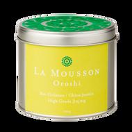Oroshi - organic green tea Jasmin high grade jinjing from La Mousson