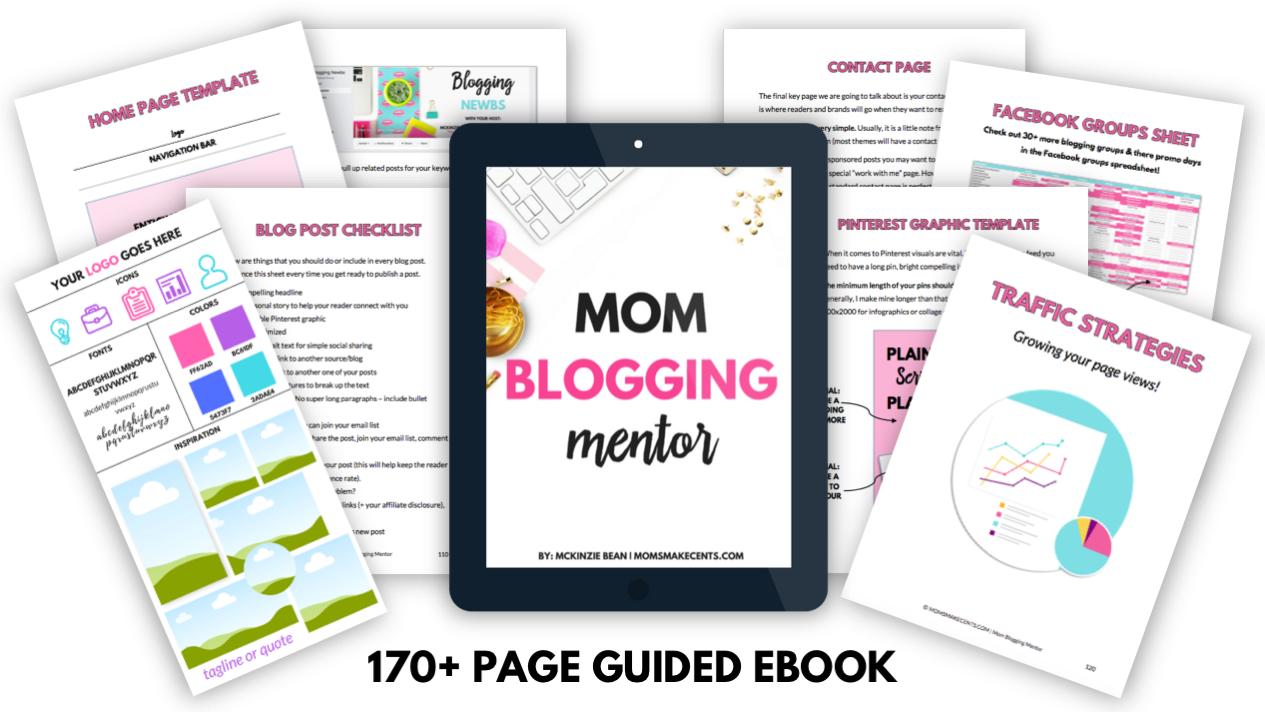 Mom Blogging Mentor | Moms Make Cents
