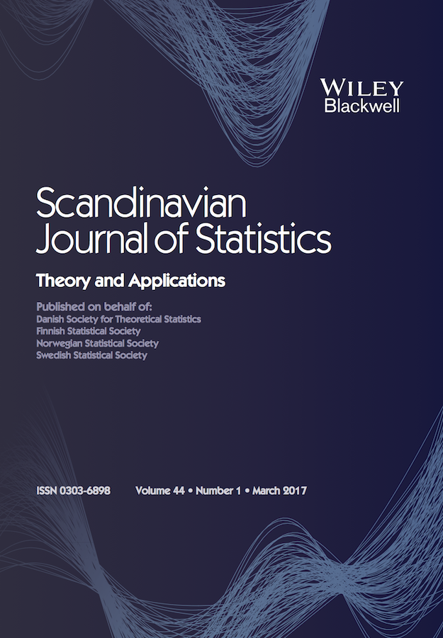 Template for submissions to Scandinavian Journal of Statistics