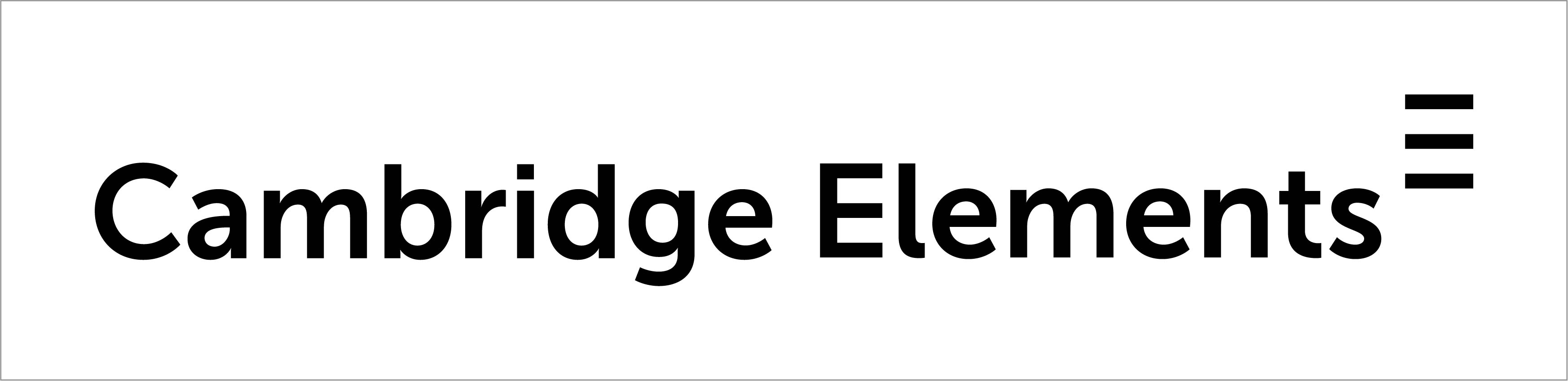 Cambridge Elements