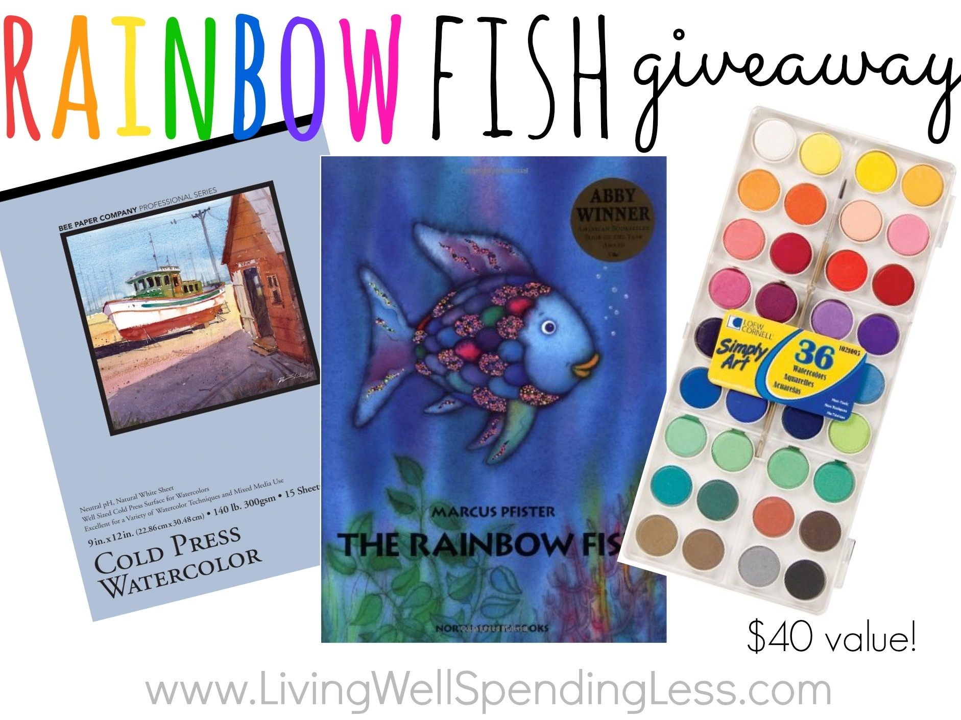 Rainbow Fish Puppets Living Well Spending Less