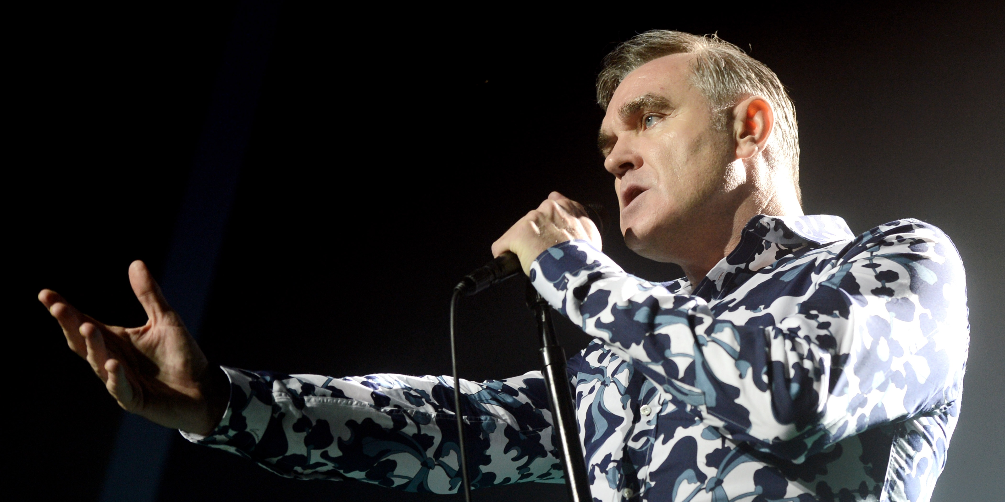 Morrissey has postponed his show in Singapore to Monday