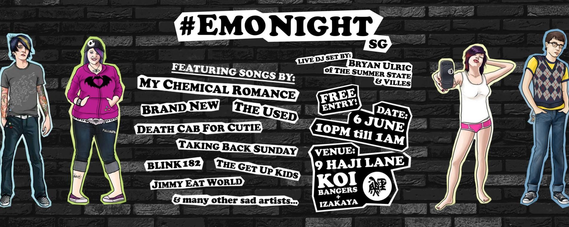 EMO NIGHT SG
