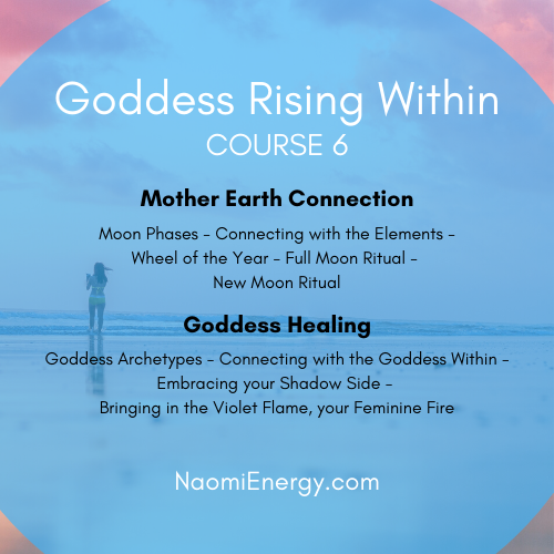 Goddess Rising Within Course 6