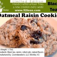 Oatmeal Raisin Cookie from 52teas