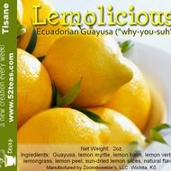 Lemolicious Ecuadorian Guayusa from 52teas