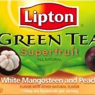 Superfruit White Mangosteen with Peach from Lipton