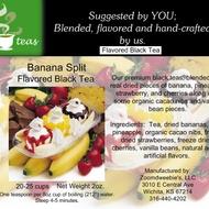 Banana Split Flavored Black from 52teas