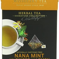 Nana Mint with Lemon and Ginger from Wissotzky Tea