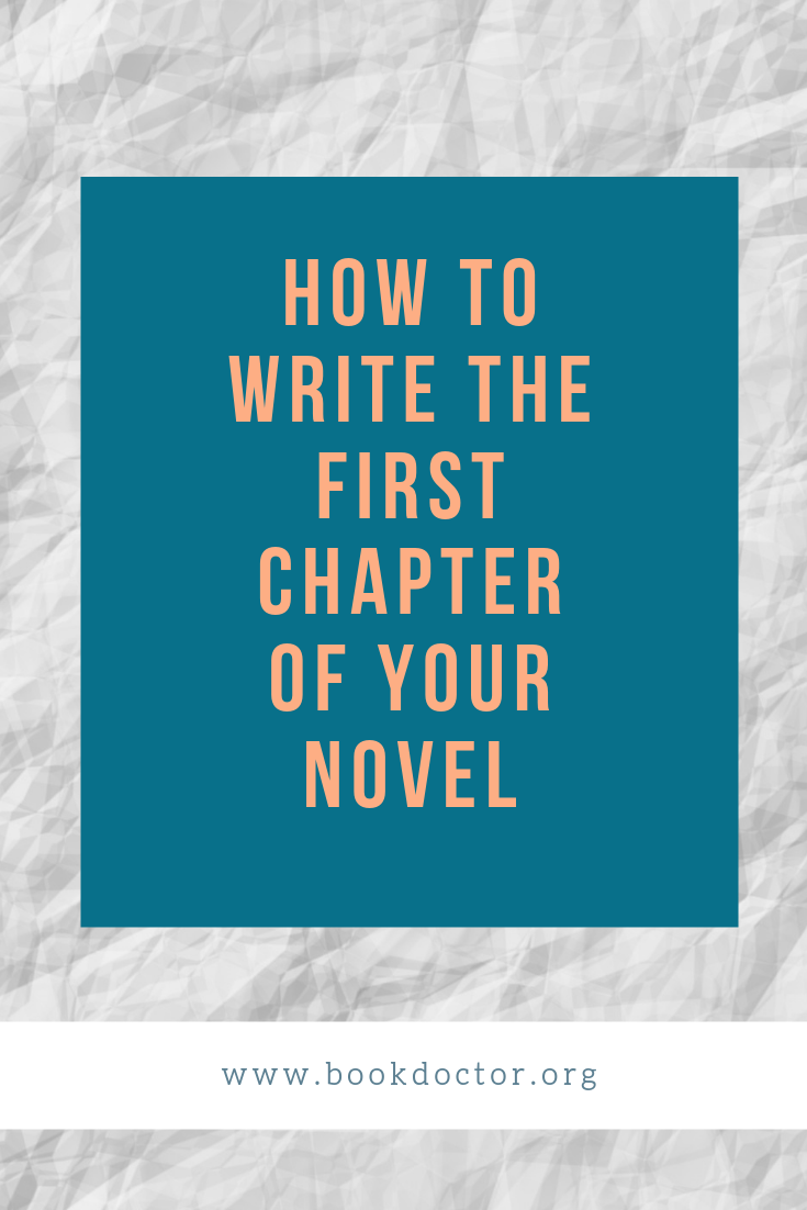 How to Write the First Chapter of Your Novel