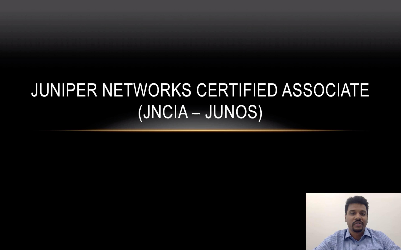 Juniper Networks Certified Associate - JNCIA | S2 Academy