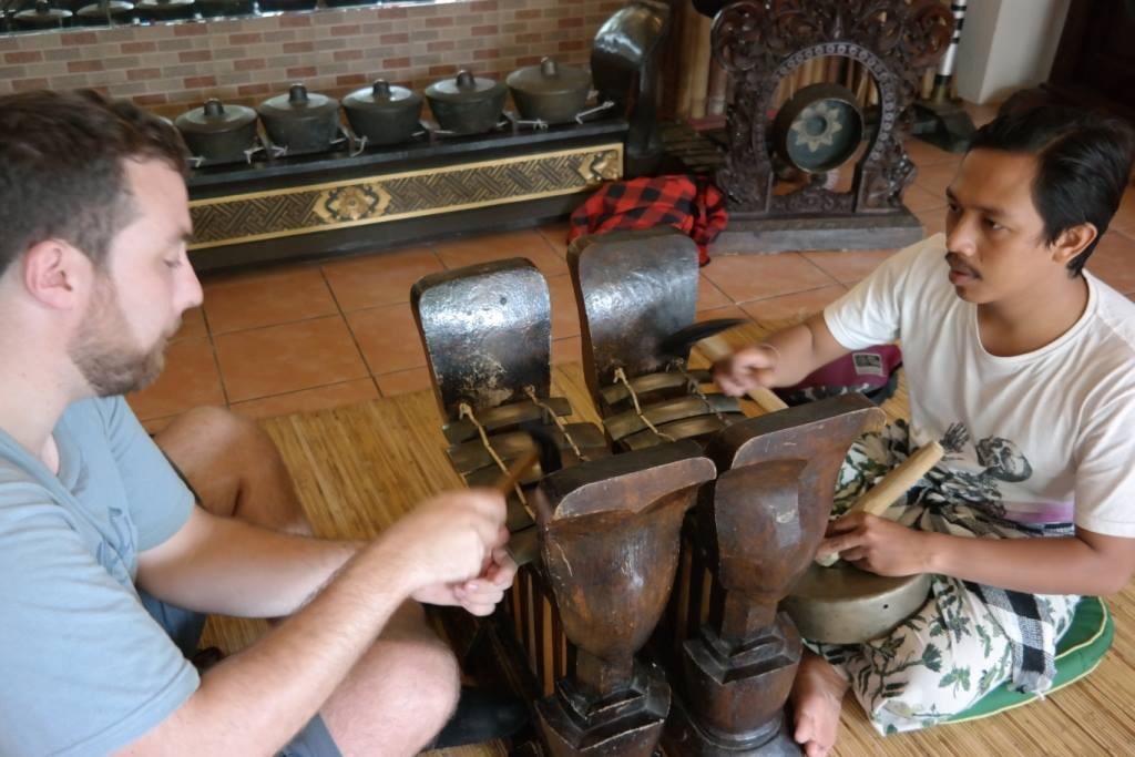 Learning Gamelan Music in Bali