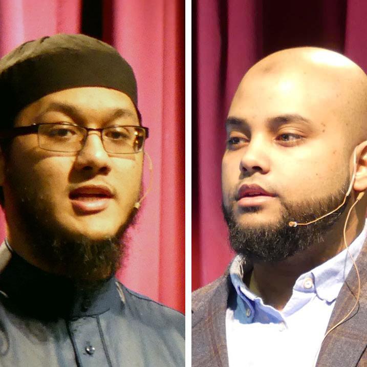 Shaykh Zakareeya Baksh and Shaykh Zakir Choudhury