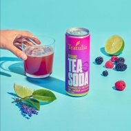 Lemongrass Tea Soda (Wildberry, Lime, Lavender) from Teatulia Teas