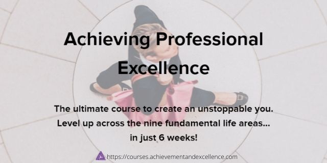 Achieving-Professional-Excellence-Online-Course