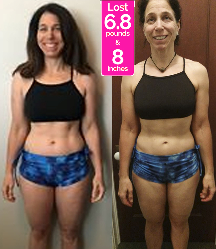 Lyna Before & After Pics - Janis Saffell 4 Week Fat Blaster