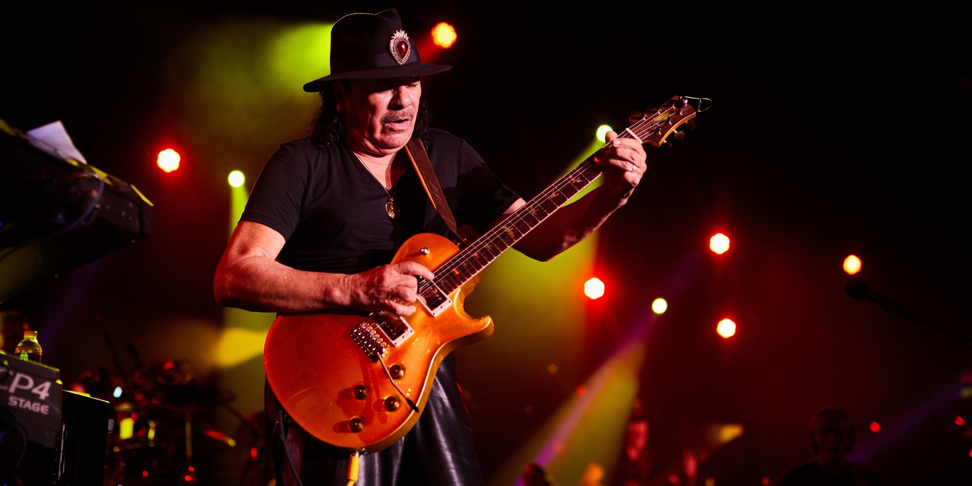 PHOTO GALLERY: Santana delivers a masterful performance in his Singapore return