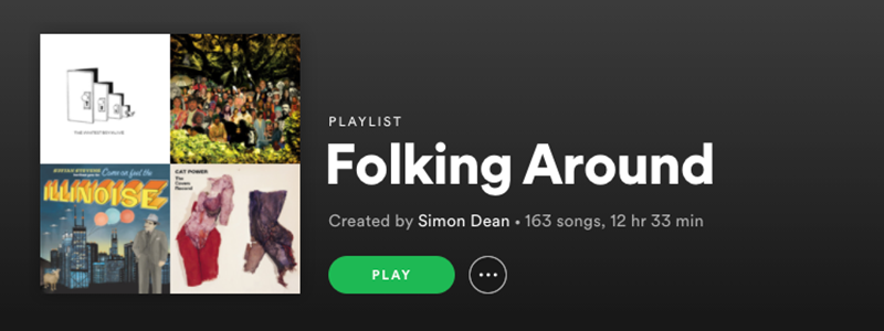 Folking Around Playlist