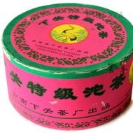 2005 XiaGuan TeJi Tuo Pink Box Raw from Xiaguan Tea Factory