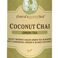 Coconut Chai Green Tea from Zhena's Gypsy Tea