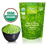 100% Organic Japanese Matcha from DOCTOR KING & COMPANY