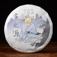 """2019 Yunnan Sourcing """"Ding Jia Zhai"""" Ancient Arbor Raw Pu-erh Tea Cake from Yunnan Sourcing"""