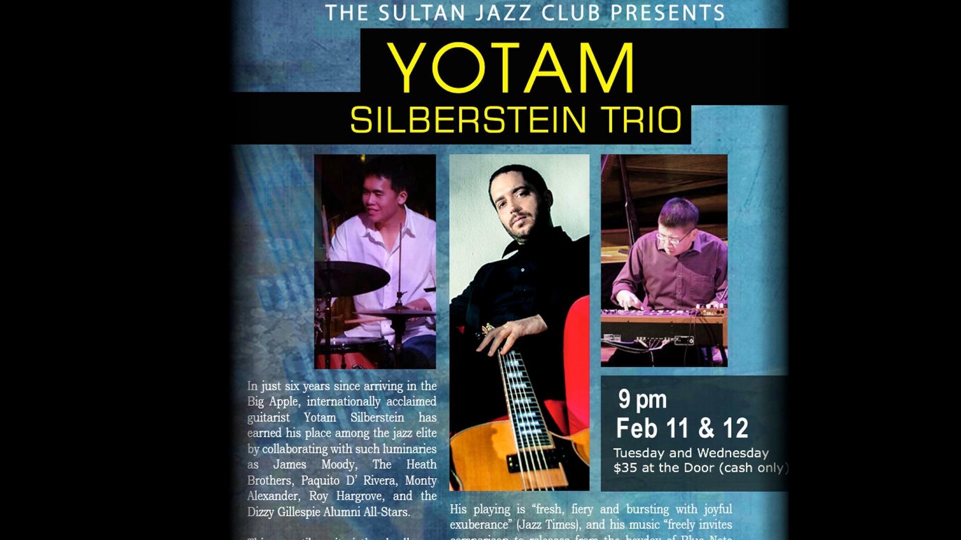 Yotam Silberstein Live at the Sultan Jazz Club