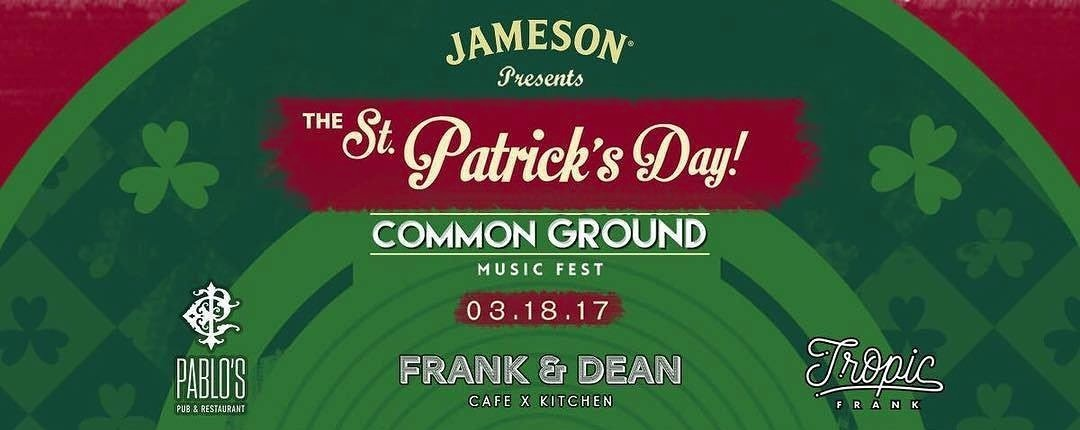The St. Patrick's Day Common Ground Music Fest