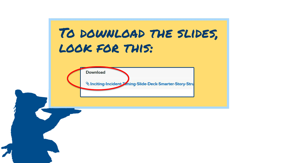 Downloadable slide decks are included in this course