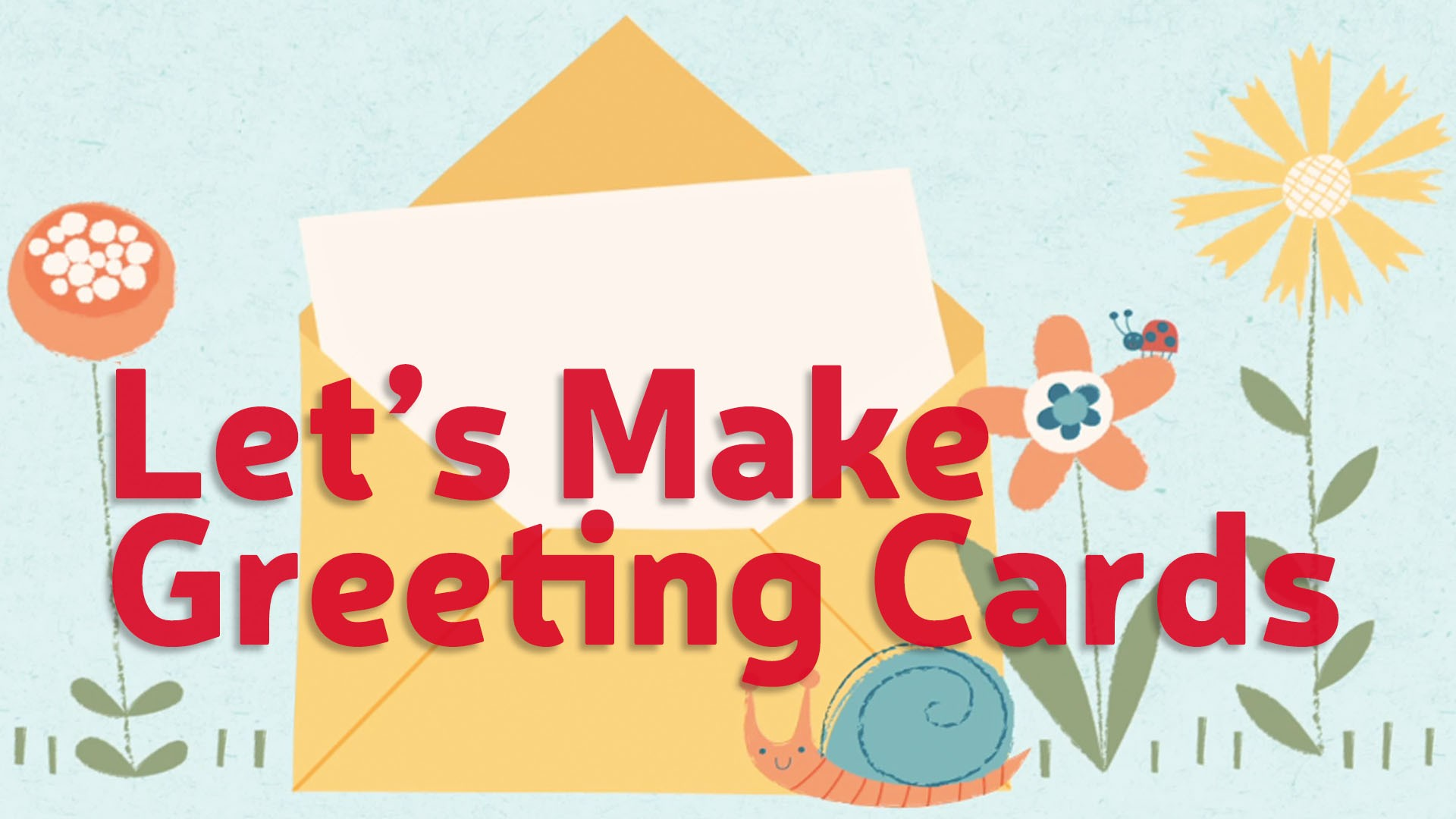 Lets Make Greeting Cards Sketchbook Skool